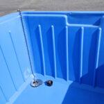 アイスボックス 排水溝イメージ