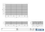 2×4間ステージプラン 図面