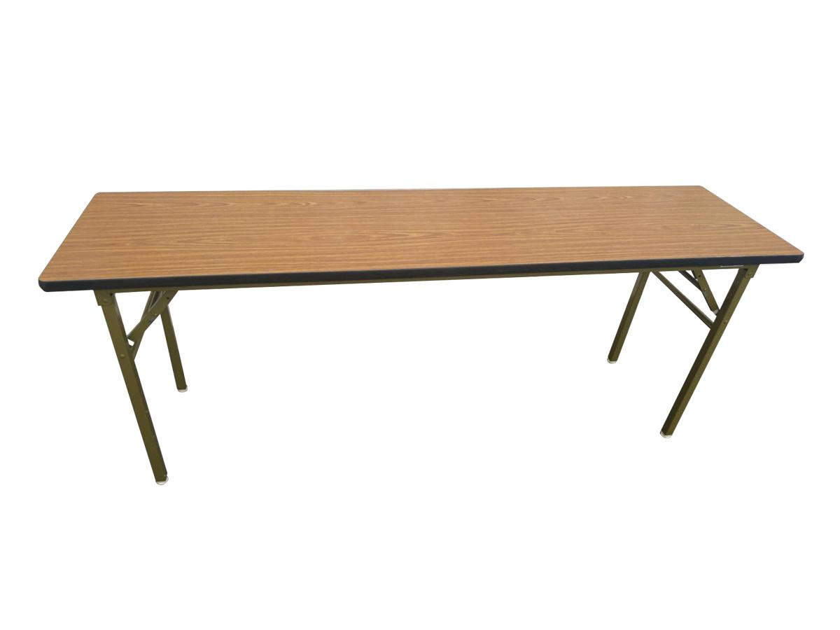 デコラテーブル(木目/1800×450mm) レンタル