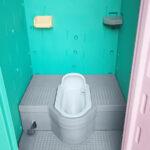 軽水洗トイレ(和式) 内部の様子