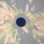 地球型バルーンドーム中から見た天井