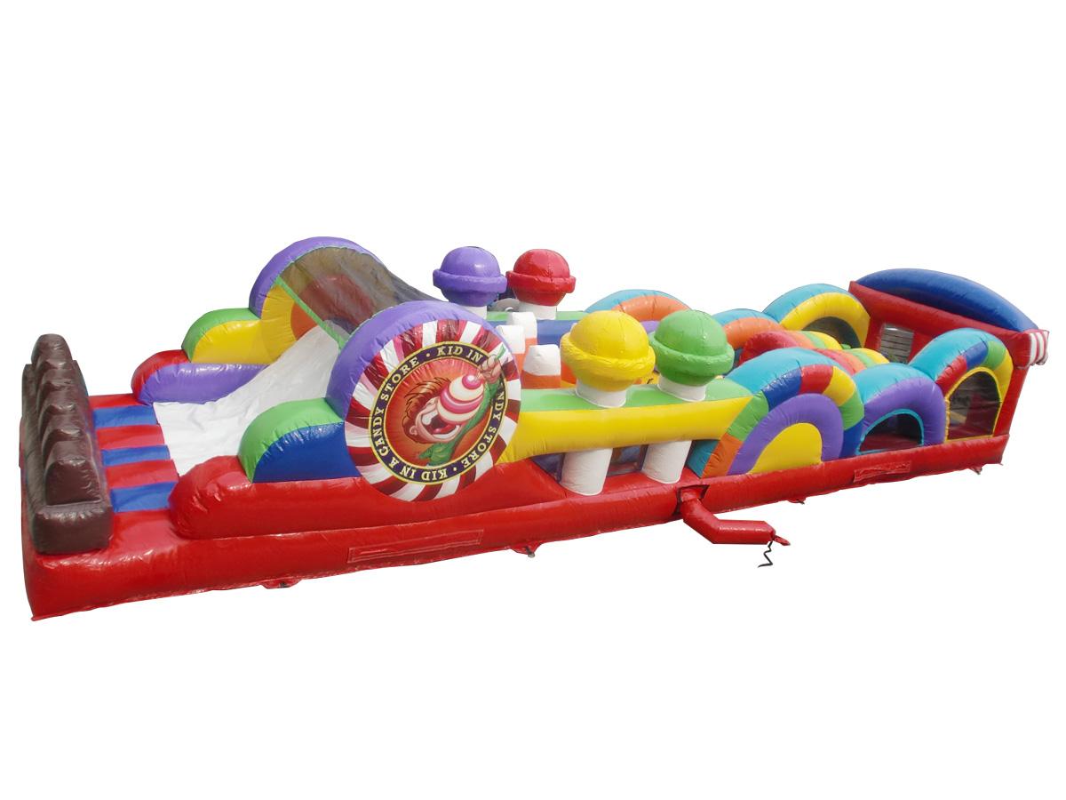 ふわふわアスレチック遊具 レンタル