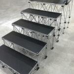 折りたたみステージ専用階段 段差イメージ