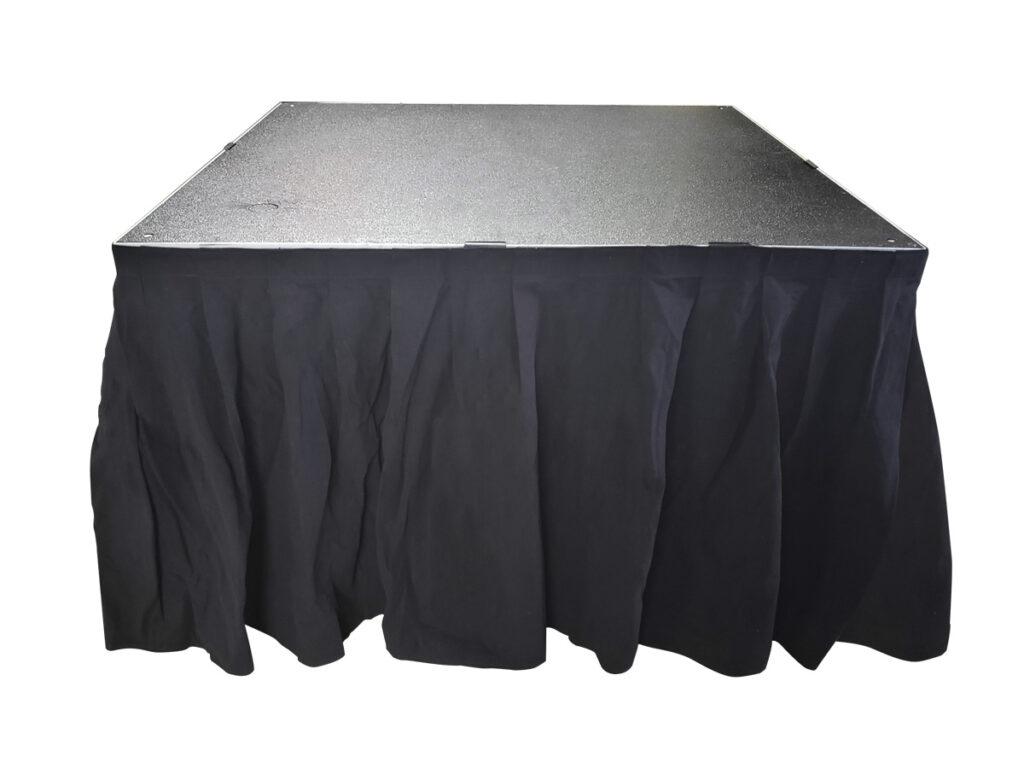 折りたたみステージ専用スカート(60cm) 使用イメージ