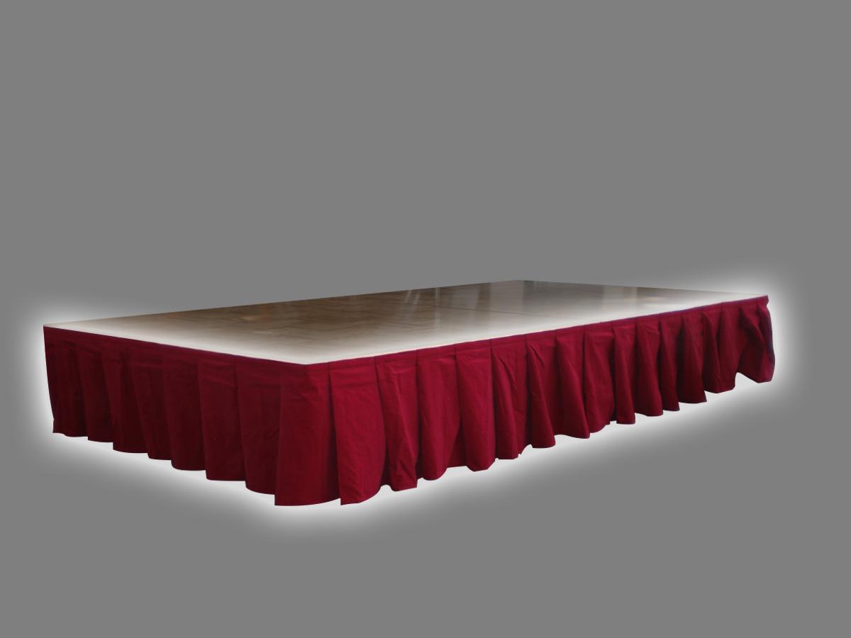 ポータブルステージ用スカート(H400mm)