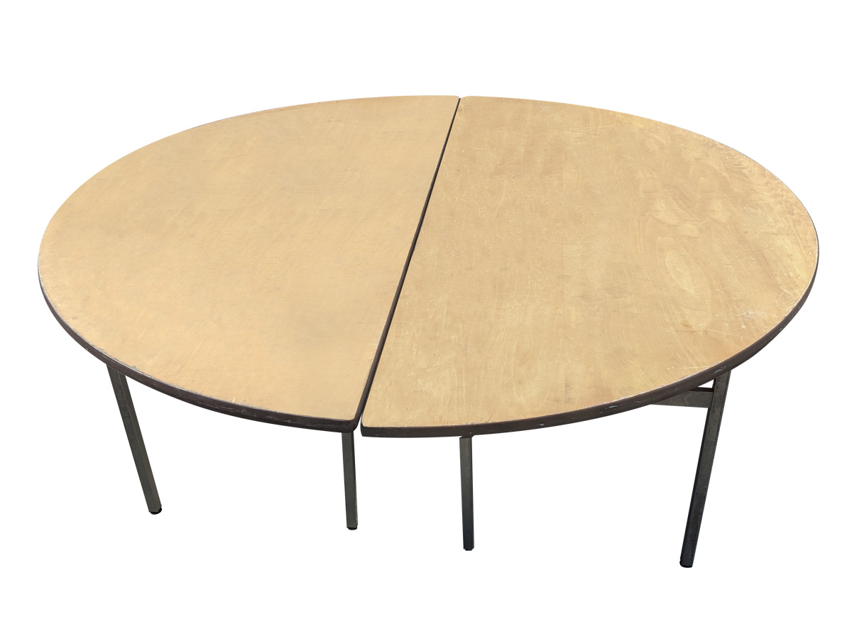 丸テーブル(ベニヤ/直径1800mm) レンタル