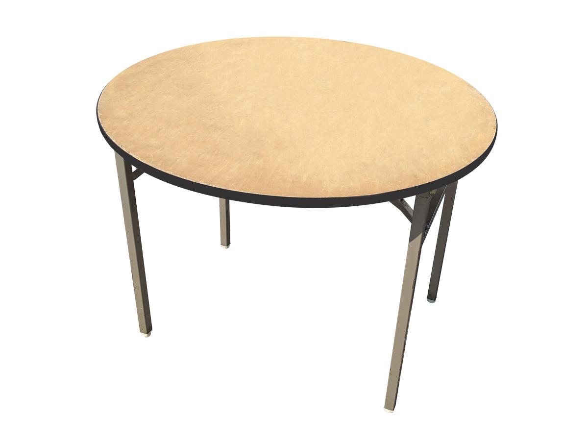 丸テーブル(ベニヤ/直径900mm) レンタル