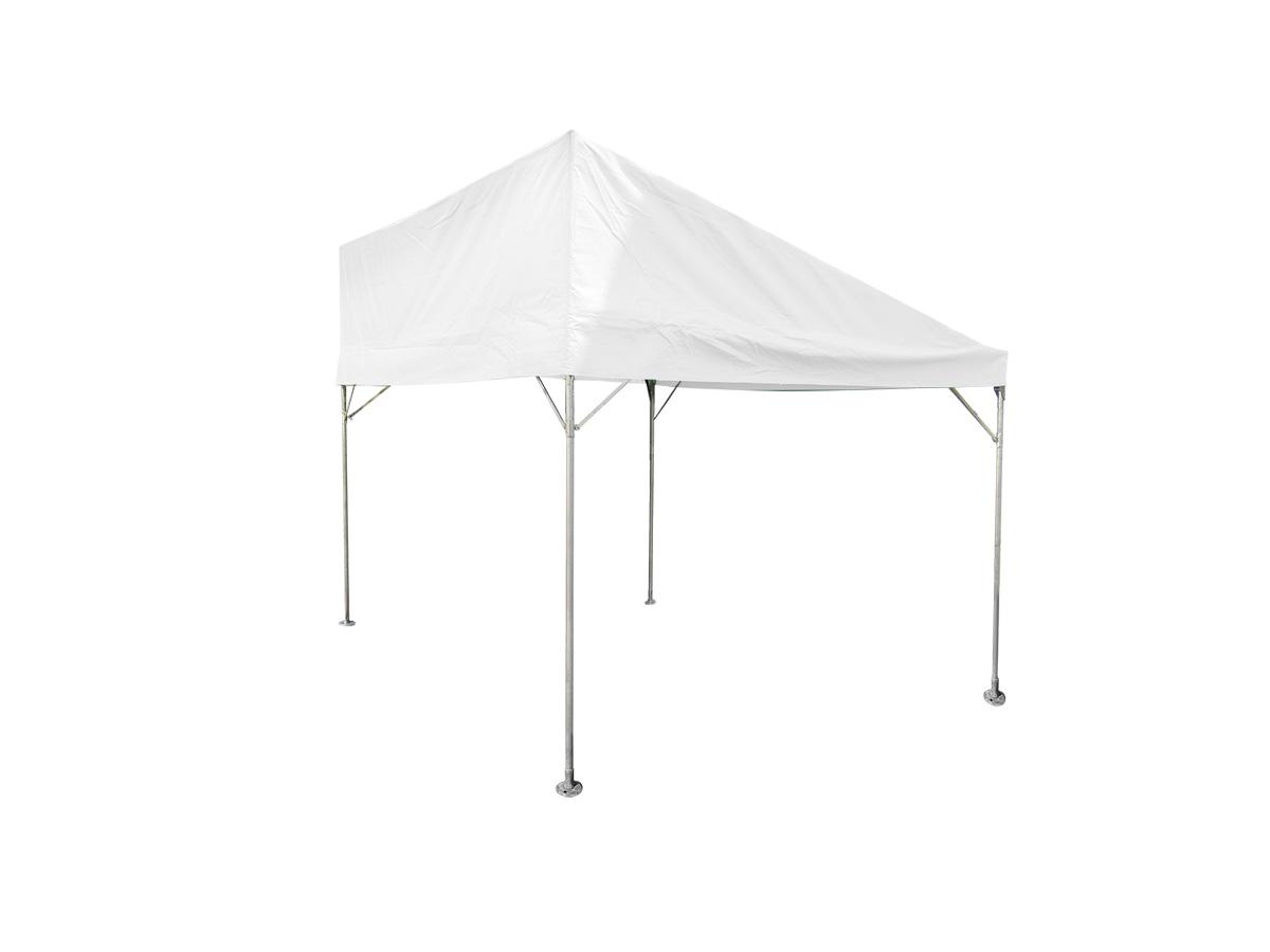 1間×2間片流れテント(白) レンタル