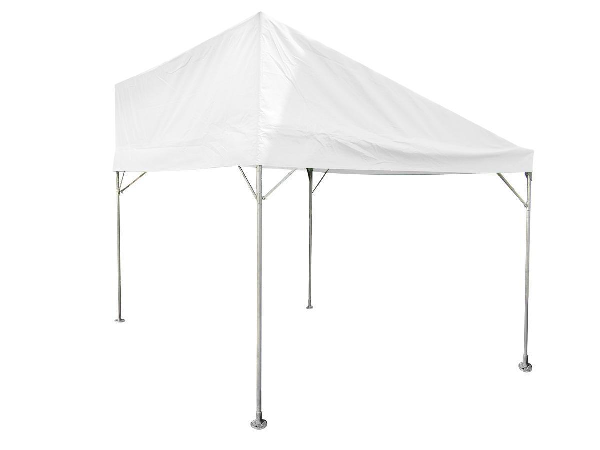 1.5間×2間片流れテント(白)