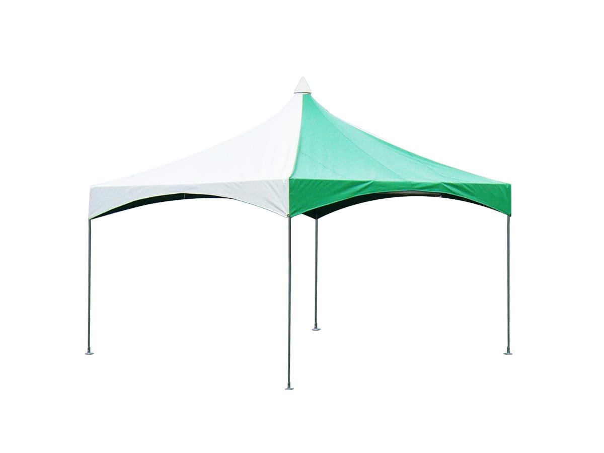 2間×2間ロイヤルテント(緑/白) レンタル