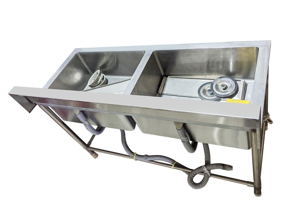 2槽式手洗いシンク