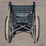 車椅子 背面