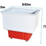 冷蔵コンバットケース(3尺) 寸法イメージ