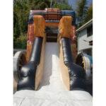 巨大馬車滑り台 滑り台部分