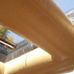 巨大馬車滑り台 天井部分