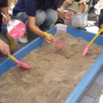 砂金掘り体験セット 現場写真