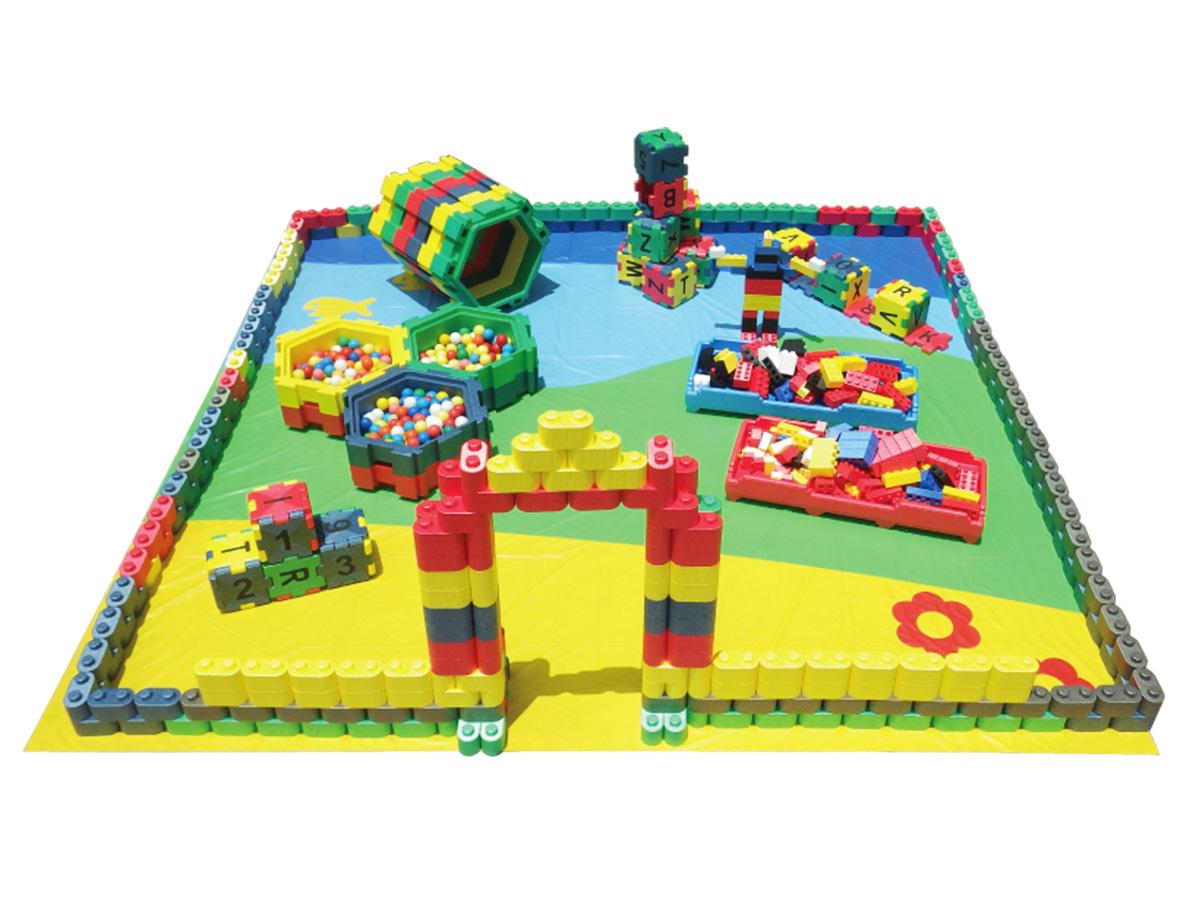 子ども用ブロック広場 イメージ