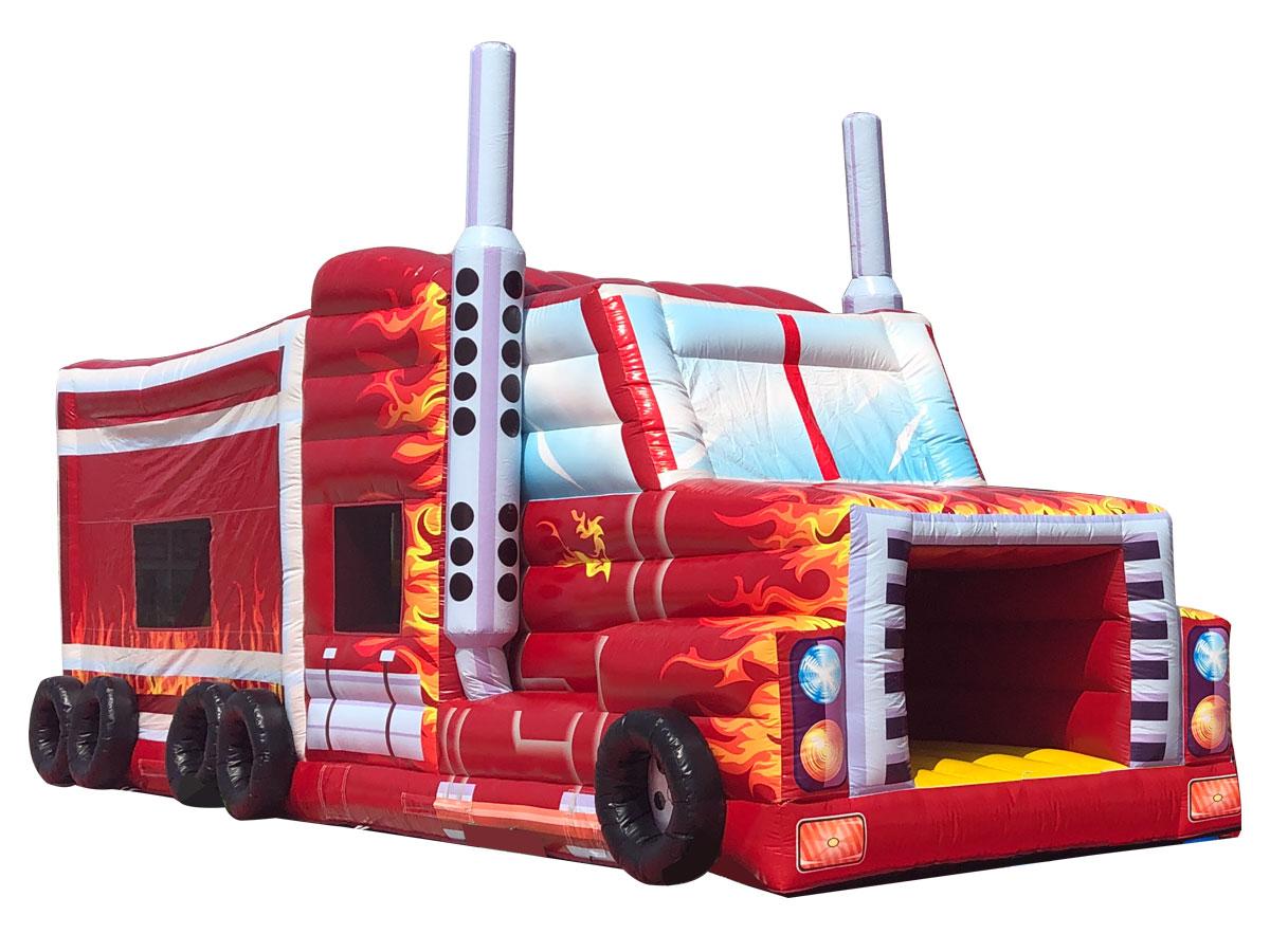 ふわふわ巨大トラック レンタル