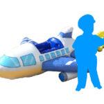 飛行機フォトバルーン 使用イメージ