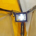 LED投光器 現場写真