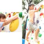 子供用ボルダリング実施セット イメージ
