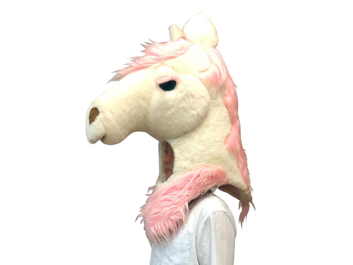 白馬かぶりもの レンタル