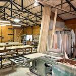 木工小屋の様子です。