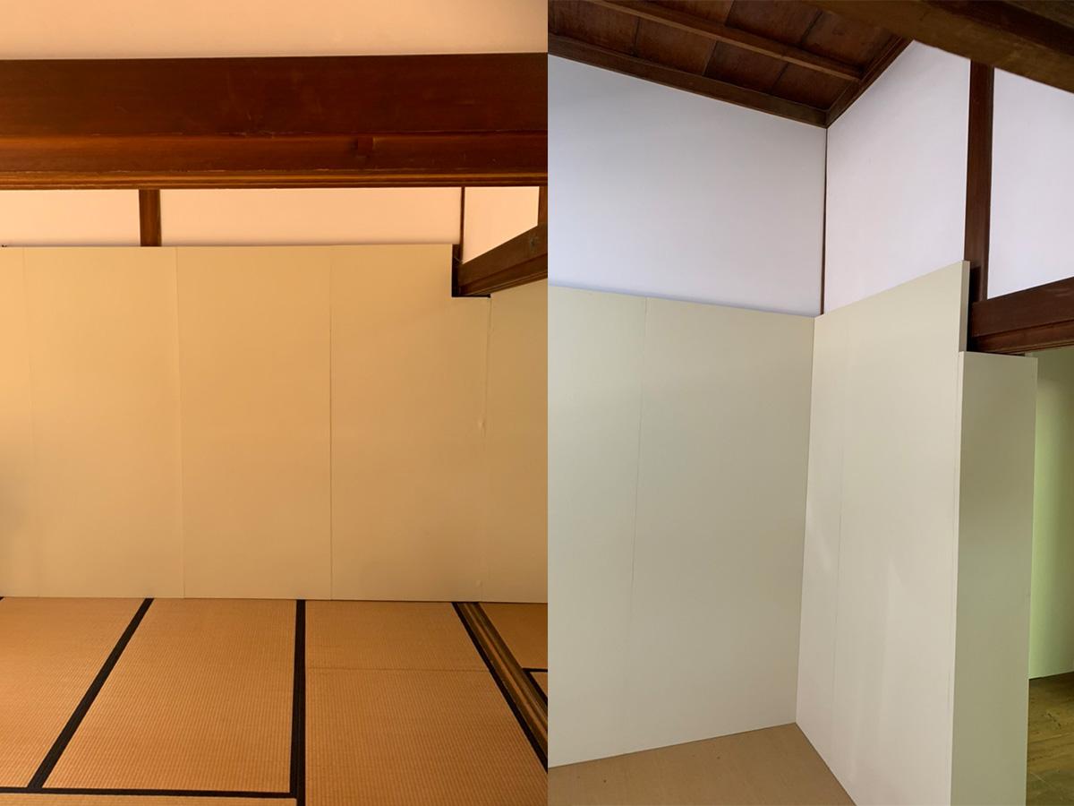 木工造作 和室で使用