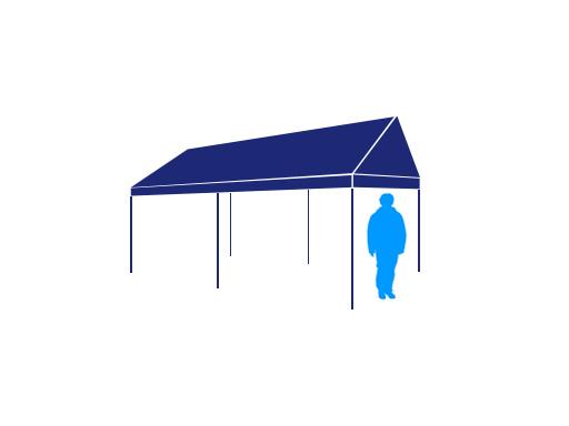 2間×3間テント