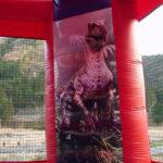 小型恐竜エアハウス 内部の様子