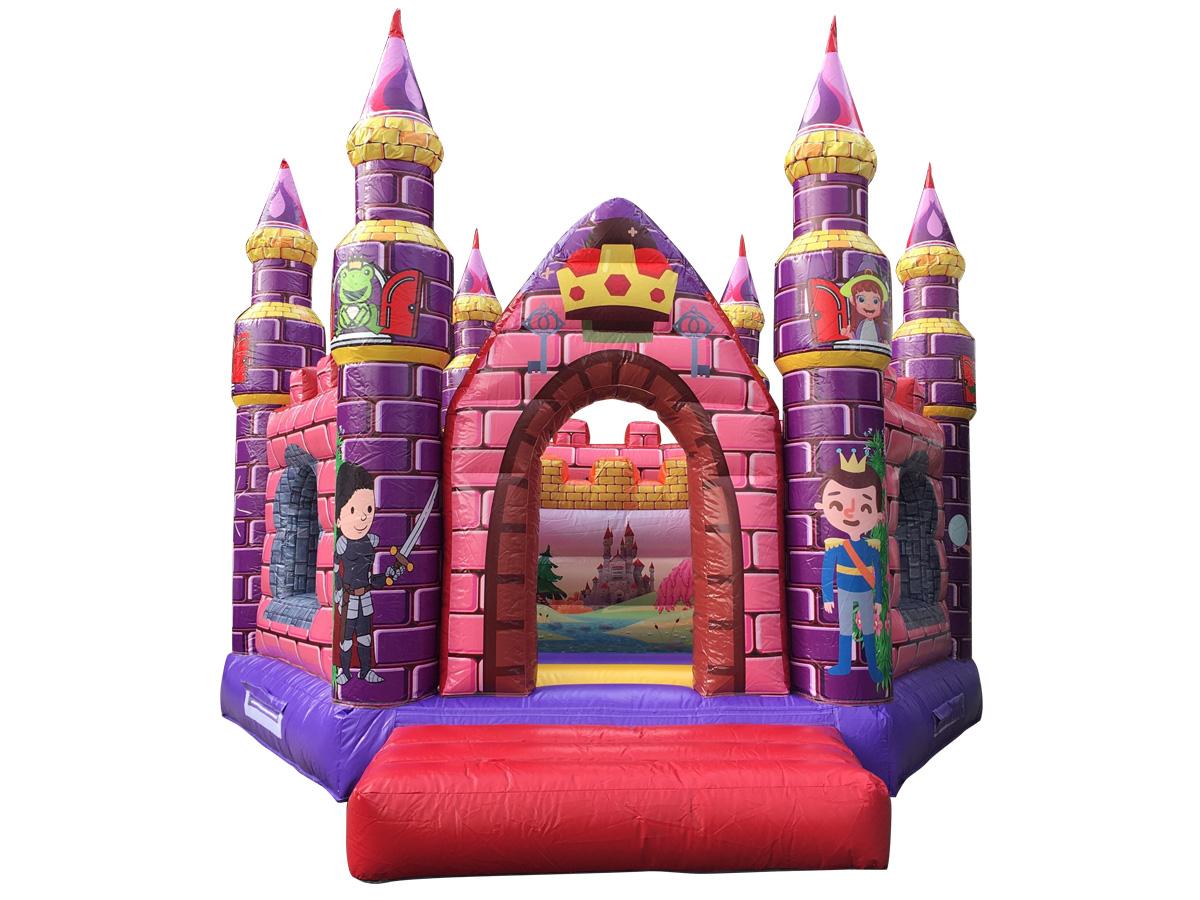 ピンクのお城