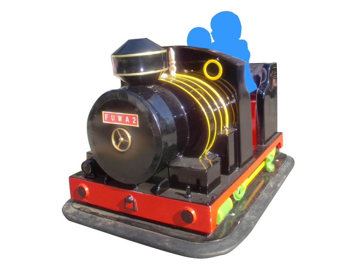 機関車ゴーカート(黒)