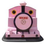 機関車ゴーカート(ピンク) 正面