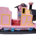 機関車ゴーカート(ピンク) 側面
