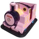 機関車ゴーカート(ピンク) 本体イメージ