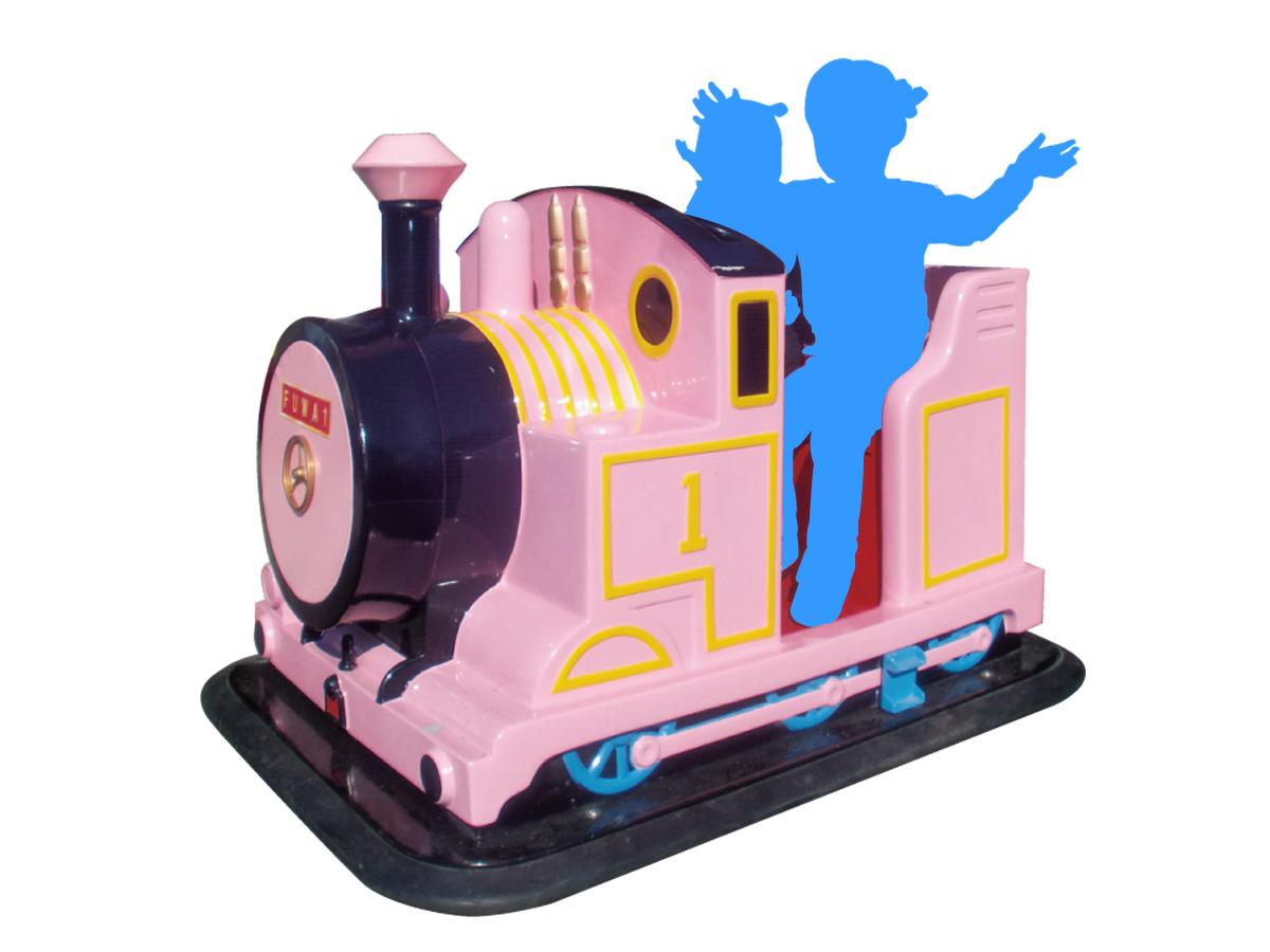 機関車ゴーカート(ピンク)