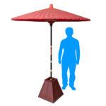 野点傘 使用イメージ