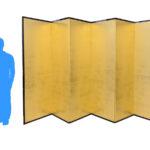 金屏風(7尺) サイズ感