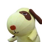 エアー式犬着ぐるみ(黄) 顔アップ