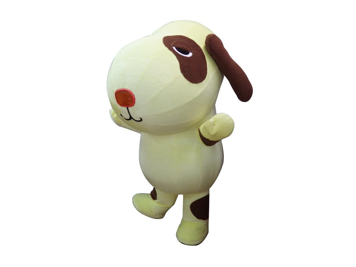 エアー式犬着ぐるみ(黄)