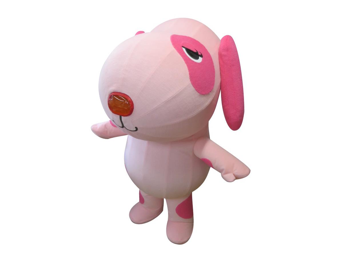 エアー式犬着ぐるみ(ピンク) レンタル