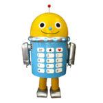 可愛いロボット着ぐるみ 正面