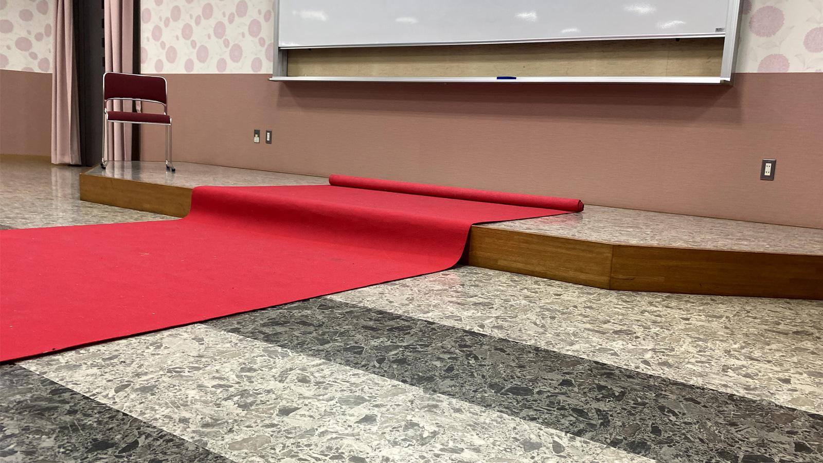 レッドカーペット 使用風景2