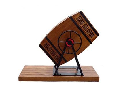樽型ガラガラ抽選器 レンタル