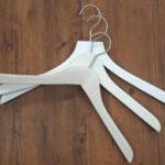 木製白ハンガー(トップス用) イメージ2