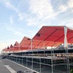 システムテント 施工事例1