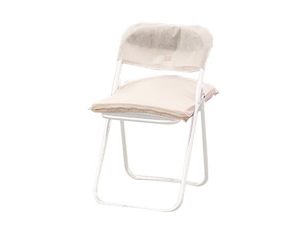 パイプ椅子用座布団・背カバーセット
