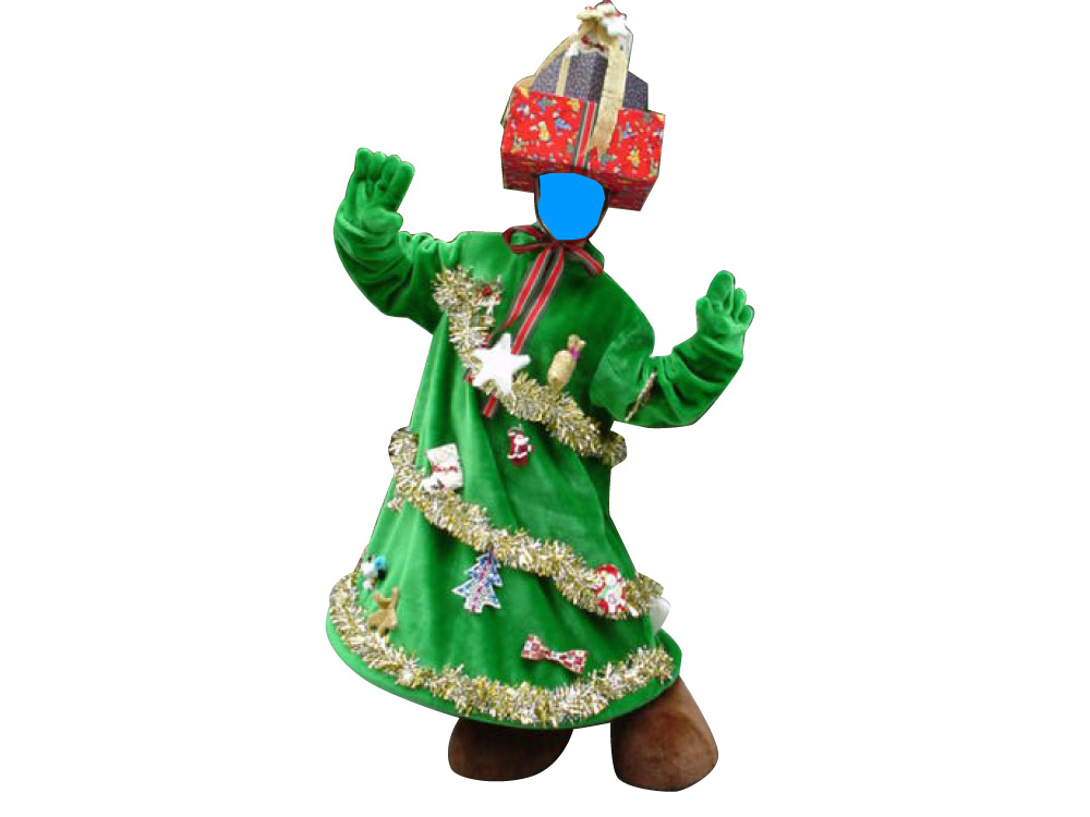 クリスマスツリースーツ