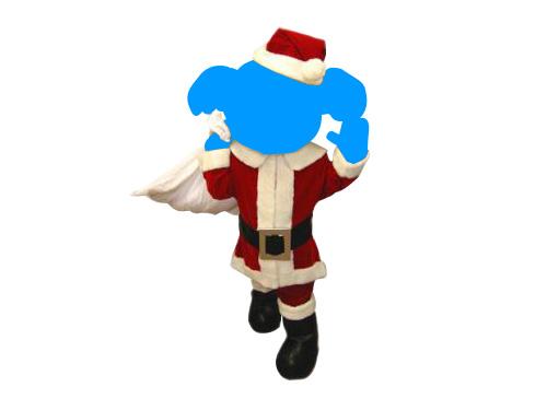 着ぐるみ用サンタスーツ