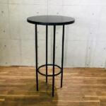 円形ブラックハイテーブル イメージ